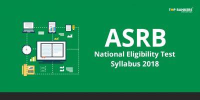 ASRB NET Syllabus 2018