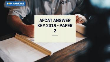 AFCAT Answer Key 2019