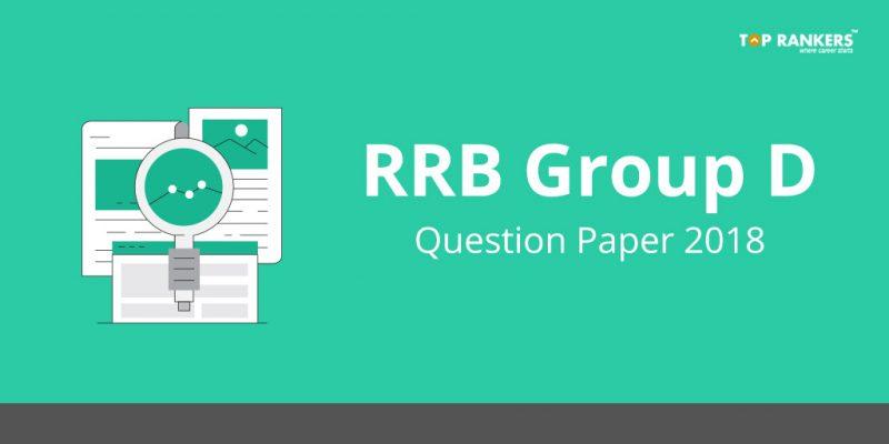 RRB Group D Question paper 2018