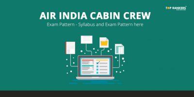 AIR India Cabin Crew Exam Pattern
