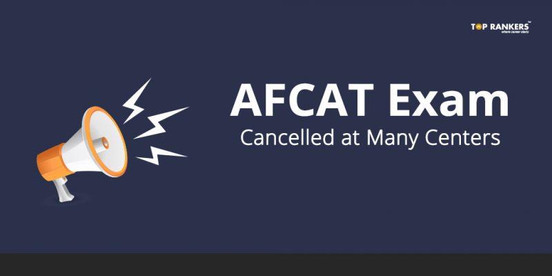 AFCAT Exam Cancelled
