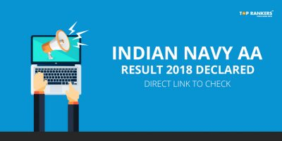 Indian Navy AA Result 2018 Declared!