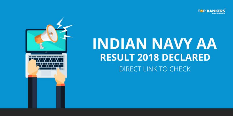 Indian Navy AA Result 2018 Declared -Direct Link to check