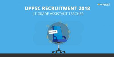UPPSC Recruitment LT Grade Assistant Teacher 2018