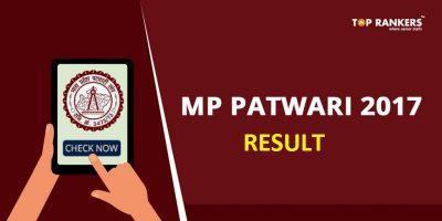MP Vyapam Patwari Result 2017-18 – Check Result, Marks Here