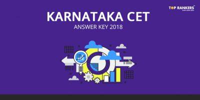 Karnataka CET Answer key 2018 – Download