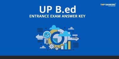 UP B. Ed JEE 2018 Answer Key