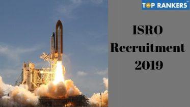 ISRO Recruitment 2019 – Apply for 158 vacancies at VSSC