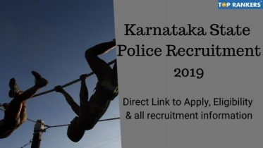 Karnataka State Police Recruitment 2019- Apply Online for 300 Vacancies