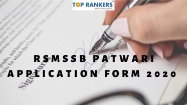 RSMSSB Application Form 2020