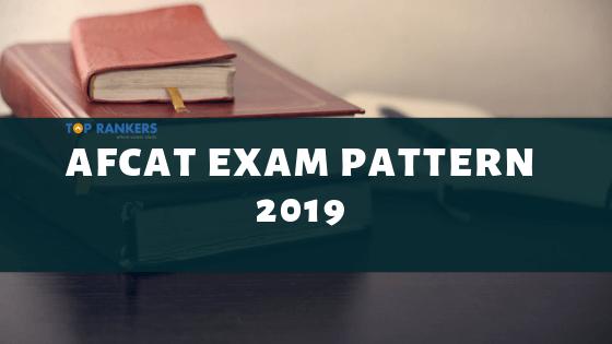 afcat exam pattern