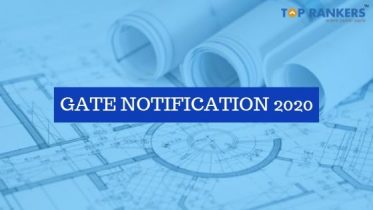 GATE Notification 2020