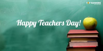 No One Is Wise Other Than A Teacher – Happy Teachers Day!