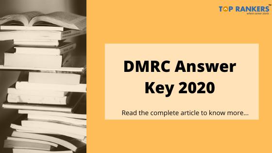 dmrc answer key 2020