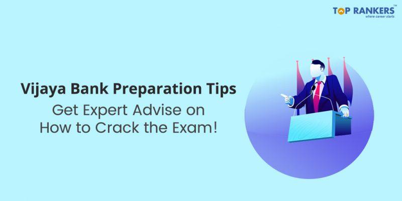 Vijaya Bank Preparation Tips