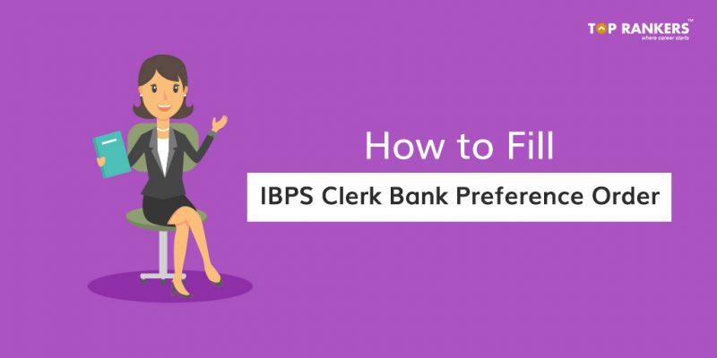 IBPS Clerk Bank Preference