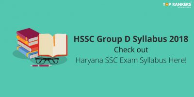 HSSC Group D Syllabus 2020
