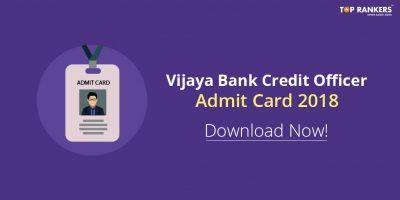 Vijaya Bank Admit Card 2018 @ ibps.sifyitest. com
