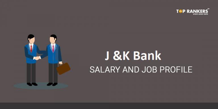 JK Bank Salary and JK Bank Job Profile