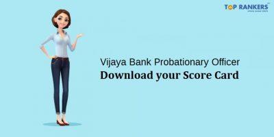 Vijaya Bank Probationary Assistant Manager Result 2018 Released now!