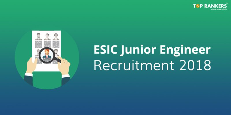 ESIC Junior Engineer Recruitment