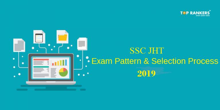 SSC JHT Exam Pattern