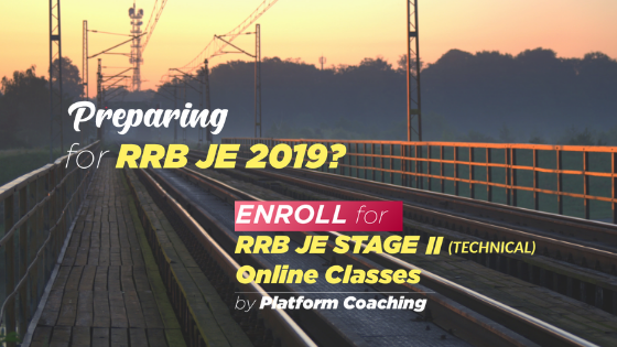 RRB JE Preparation Tips- Technical Online Coaching