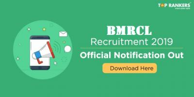 BMRCL Recruitment 2019 | Apply for Bangalore Metro Rail Recruitment