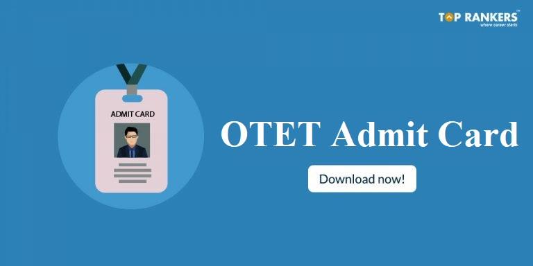 OTET Admit Card