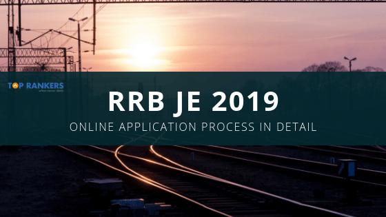RRB JE 2019 Application Process