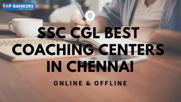 SSC CGL Coaching In Chennai
