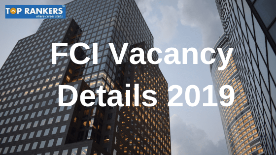 fci vacancy details