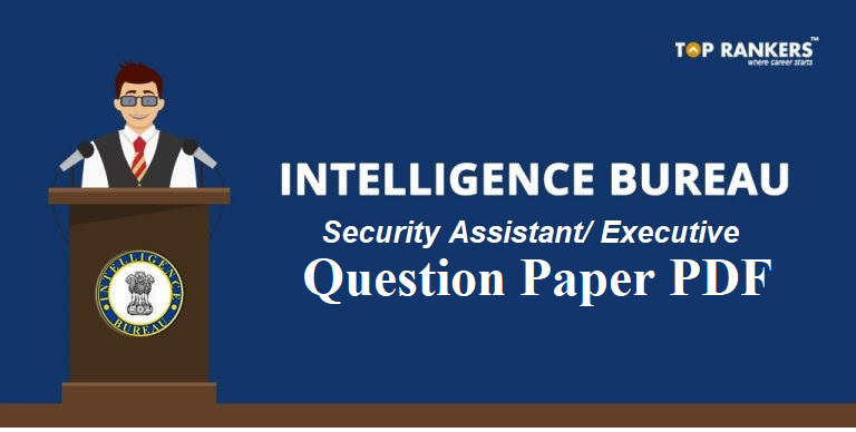 IB Security Assistant Question Paper