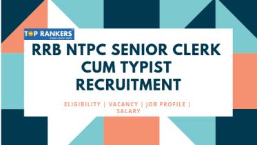 RRB Senior Clerk cum Typist Recruitment 2019 | Job and Salary