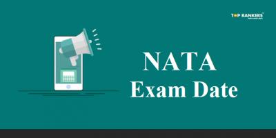 NATA Exam Date 2019