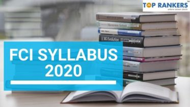 FCI Syllabus 2020 With Complete Subject Wise PDF