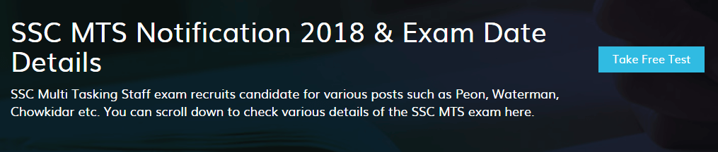 ssc mts notification
