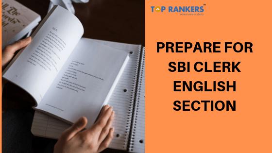 prepare for sbi clerk english