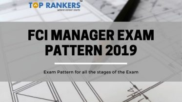 FCI Manager Exam Pattern 2019