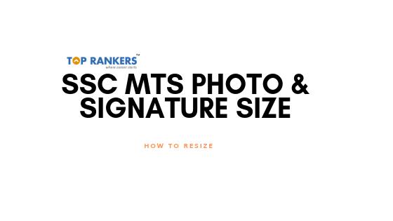 ssc mts photo size