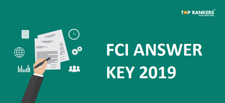 FCI Exam Answer Key