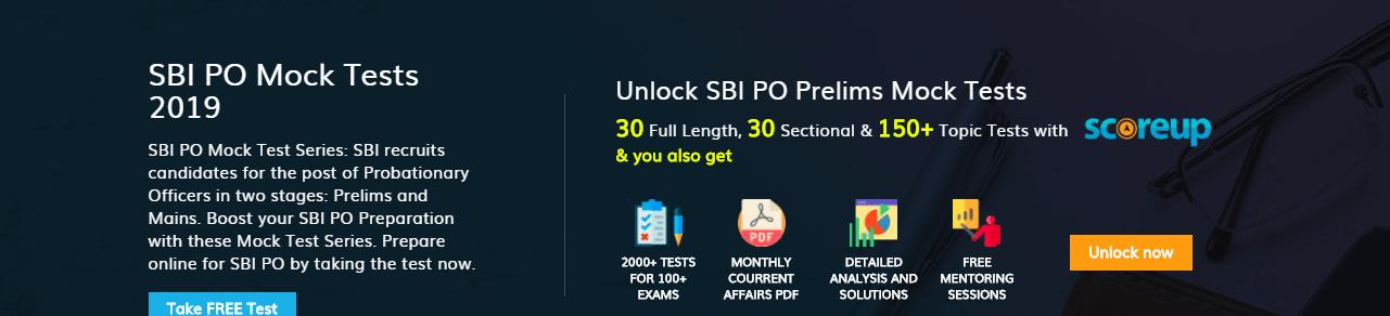 Last Minute SBI PO Preparation Tips