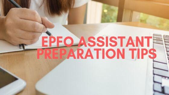 epfo assistant preparation tips