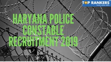 Haryana Police Constable Recruitment 2019