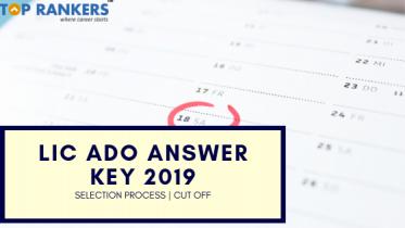LIC ADO Answer Key 2019