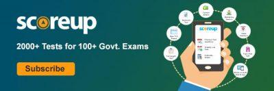 ScoreUp- Govt Exam Based Mock Test Series