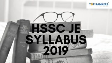 HSSC JE Syllabus 2019 |  Download the Junior Engineer Syllabus PDF