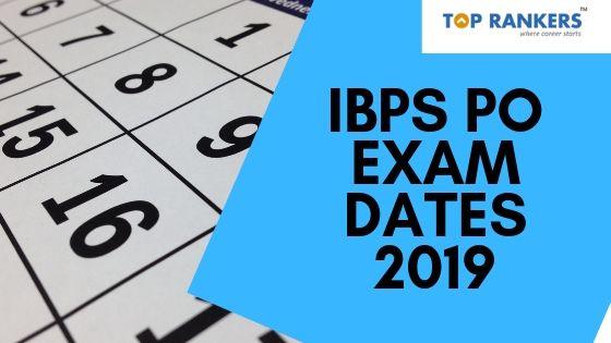 IBPS PO Exam Dates