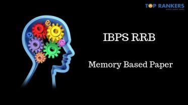 IBPS RRB Clerk Memory Based Paper 2019