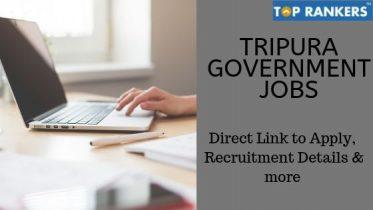 Tripura Government Jobs 2019 | Apply for 1962 Gram Rozgar Sahayak Vacancies